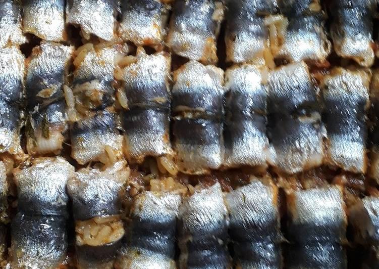Recette De Des sardines farcies au Rir dans le four