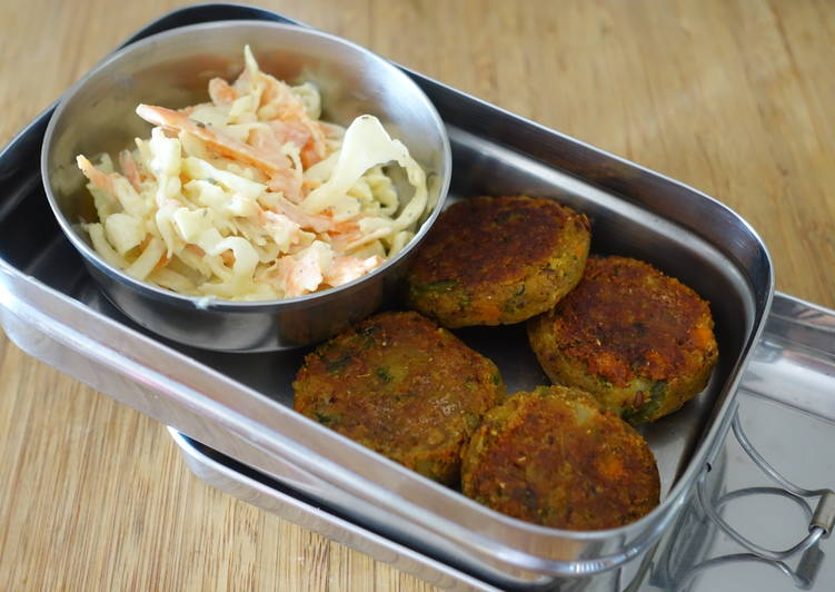 Rajma (kidney beans) and veggie tikkis