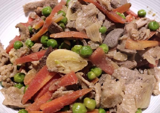 Egado with Peas