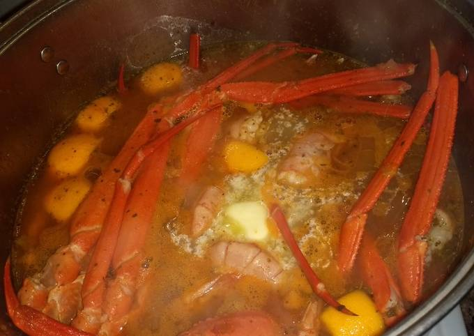 Salvadoreño crab boil