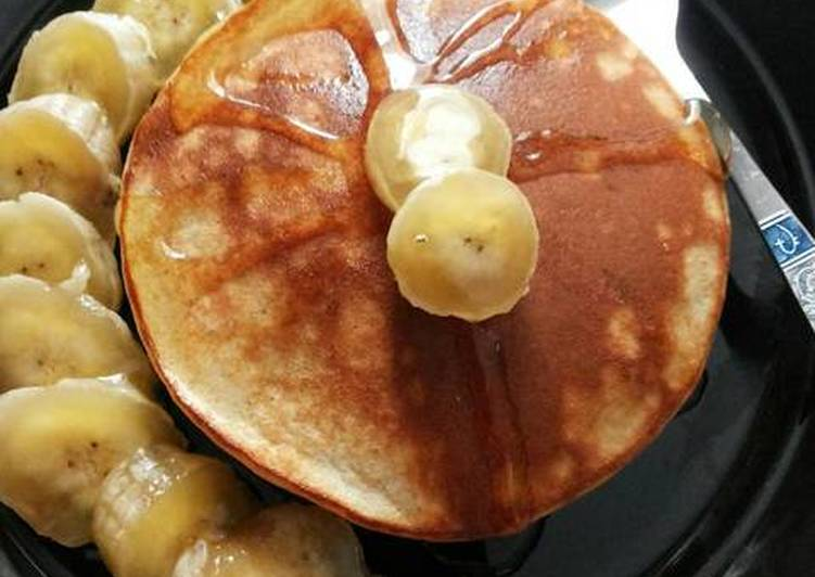Simple Way to Prepare Any-night-of-the-week Whey Protein Banana Pancakes