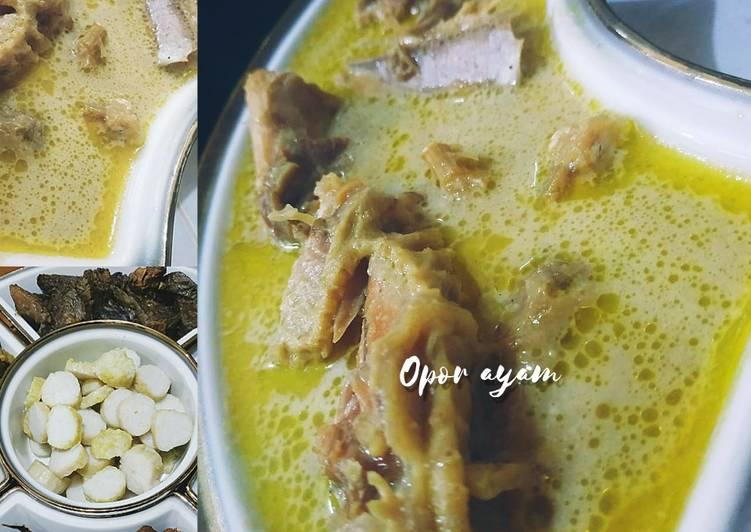 Opor Ayam ala mommy