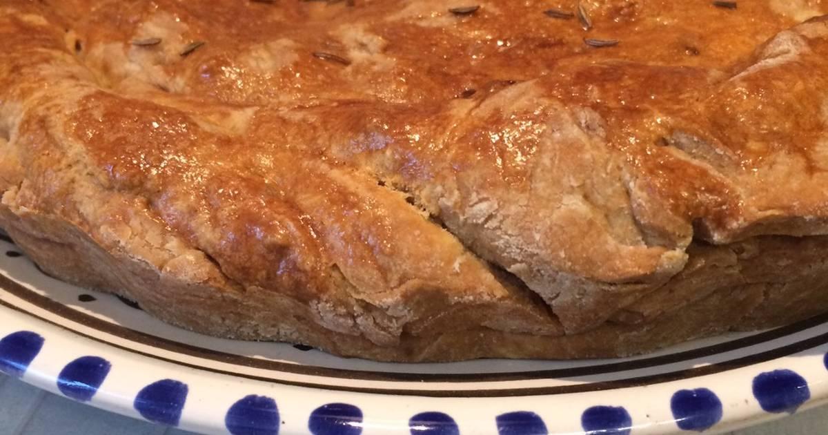 пирог со свежей скумбрией рецепт с фото