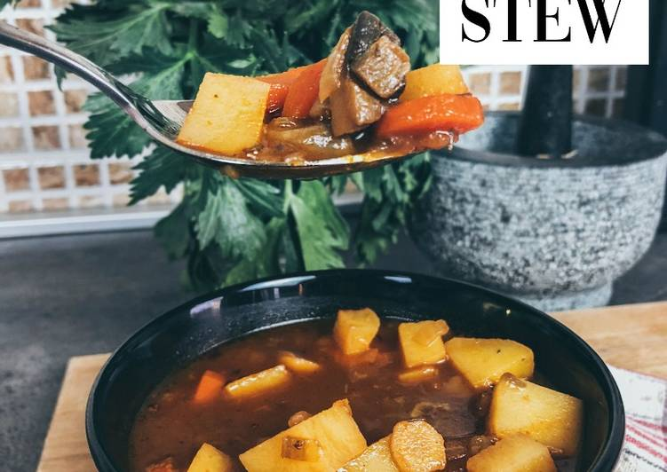 Recipe: Delicious Vegan Recipes-Vegan Guinness Irish Stew