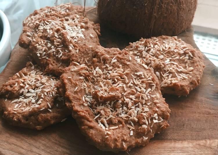 Petits biscuits cannelle & noix de coco 🥥