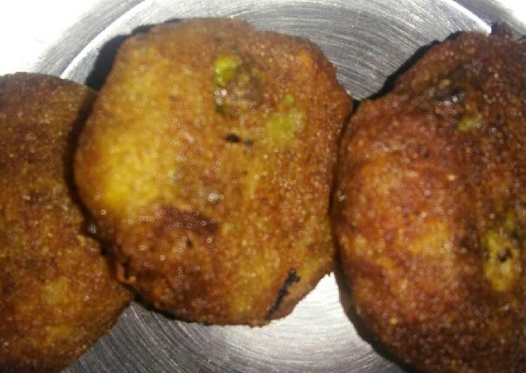 Simple Way to Make Speedy Poha aalu cutlet