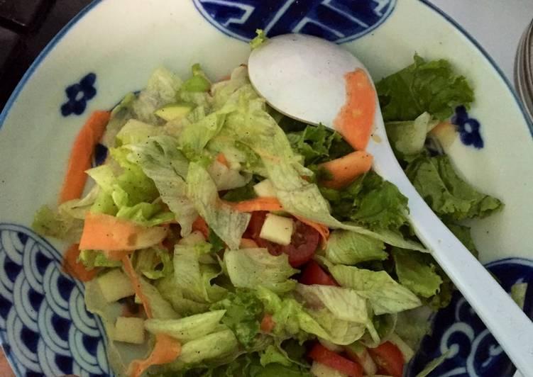 [Resep Diet] Salad Sayur dengan Apel