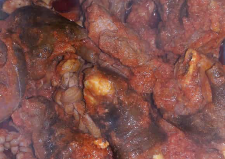 Old Fashioned Dinner Easy Summer Peppered goat meat