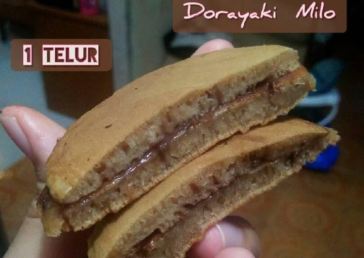 Dorayaki Milo (1 Telur)