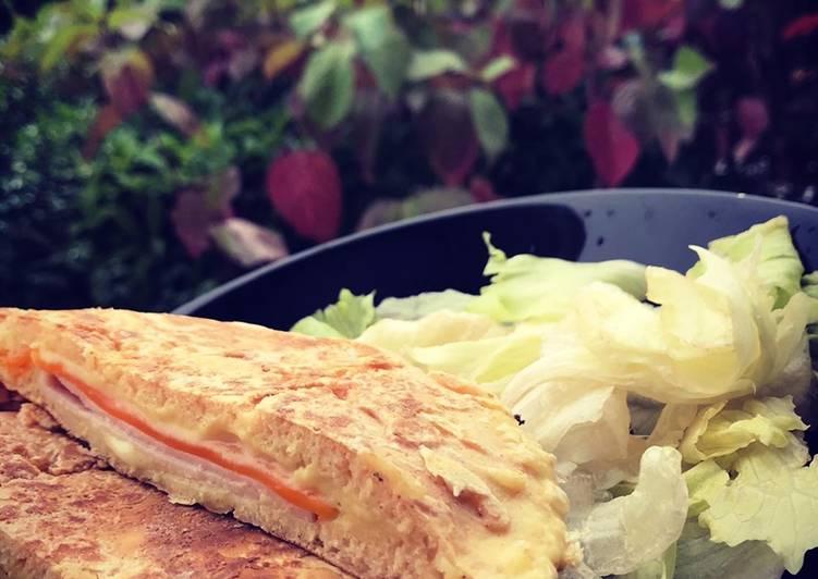 Le moyen le plus simple de Préparer Délicieux Pancake fourré