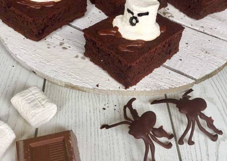 Brownies e fantasmini
