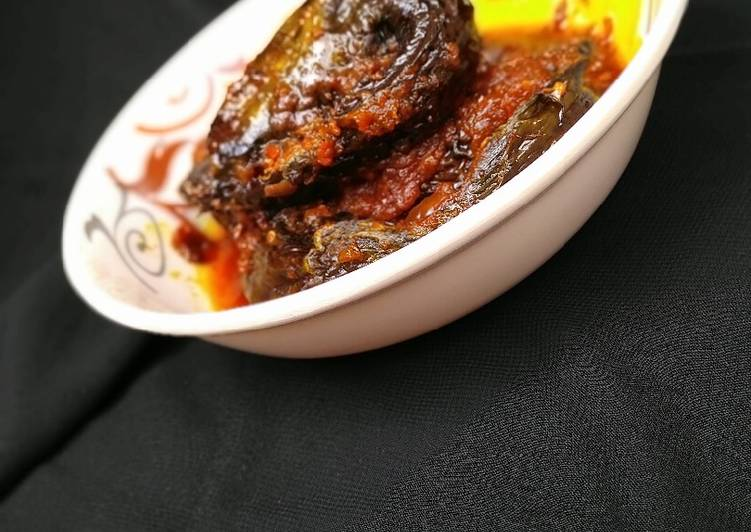 Recipe of Quick Check out this delicious recepi,dried pepper fish