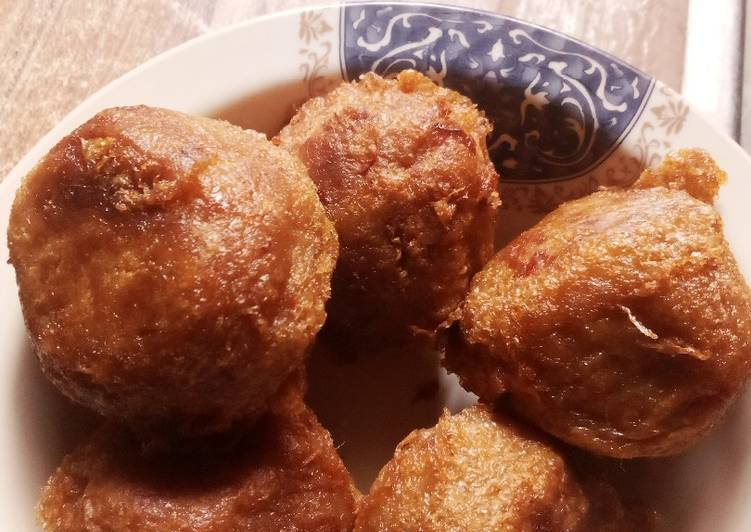 Recipe of Super Quick Homemade Yam balls