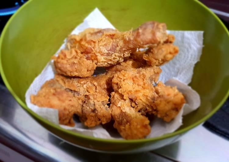 Ayam goreng super crispy