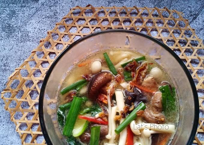 Sup Aneka Cendawan