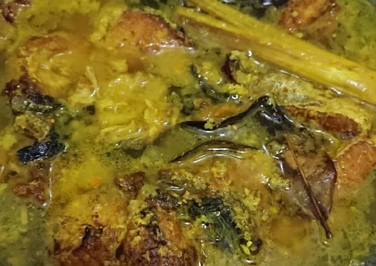 Ikan Tuna Kuah Kuning