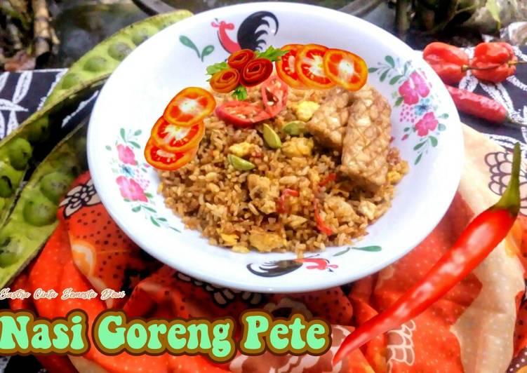 Nasi Goreng Pete Super Pedas