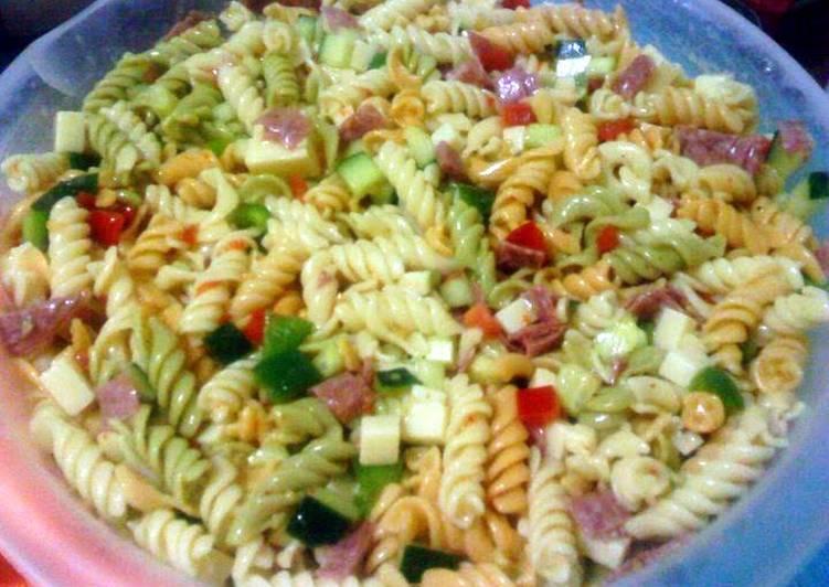 Gentleman Scoundrel's Pasta Salad