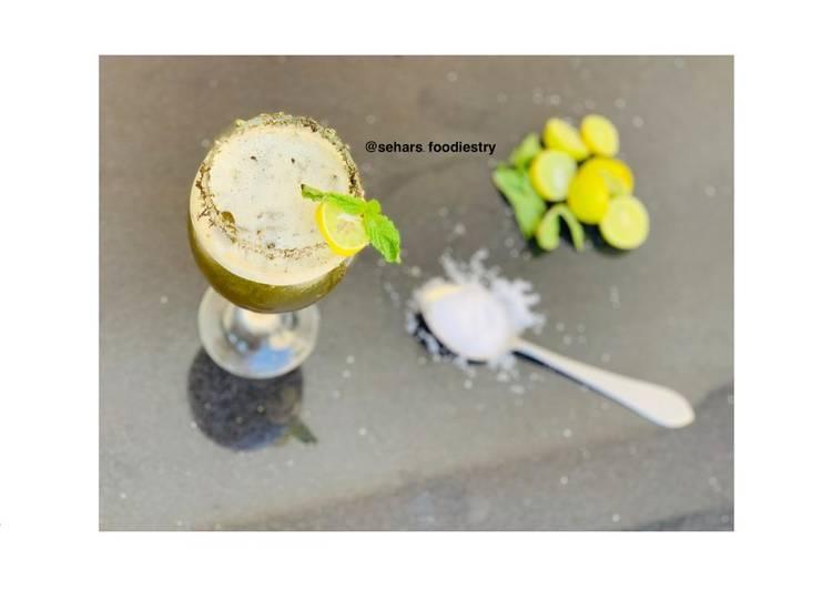 Recipe of Homemade Mint margarita
