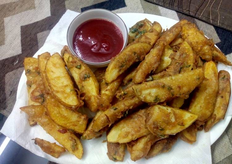 Step-by-Step Guide to Prepare Super Quick Homemade Potato wedges
