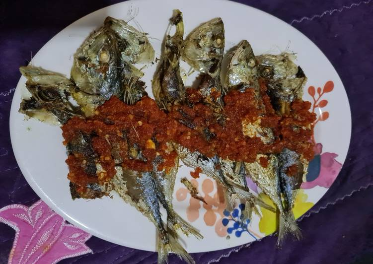 Balado ikan kembung