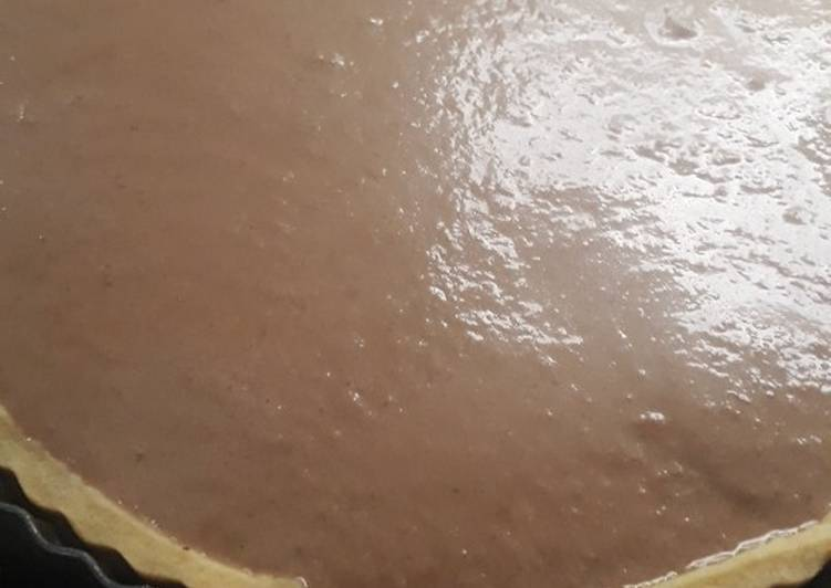 La Délicieuse Recette du Tarte banane chocolat noix de coco