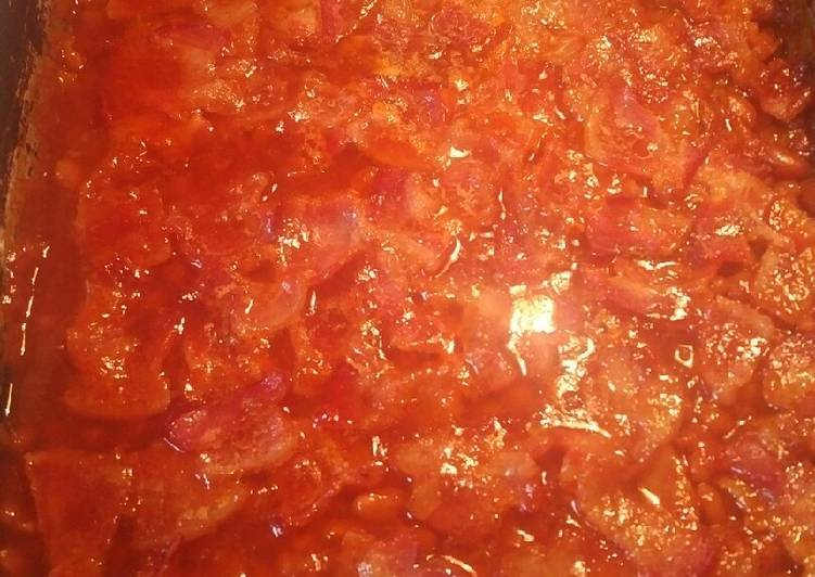 Recipe of Award-winning My Family's Traditional Baked Beans