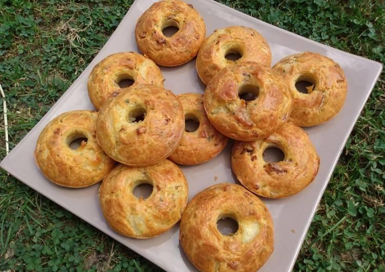 La Meilleur Recette De Cakes salés donuts