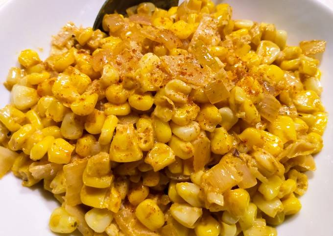 Taco-seasoned creamy corn