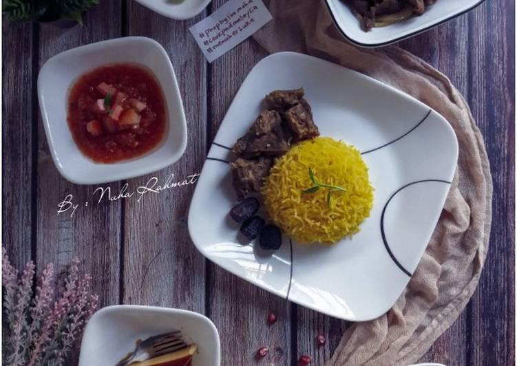 Nasi Mendy Daging Goreng #Phopbylinimohd #menuberbuka - velavinkabakery.com