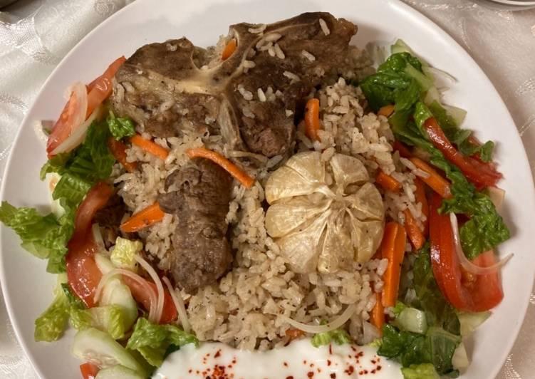Nasi Uzbek/Uzbek Pilav/Uzbek Rice
