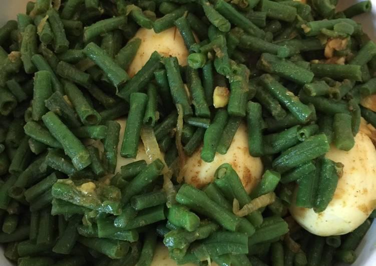 Cara Gampang Menyiapkan Kacang Panjang Masala ala India Suriname, Lezat