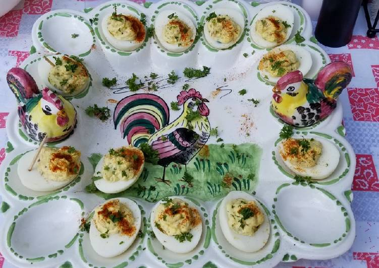 Recipe: Appetizing Bacon Jalapeno Deviled Eggs