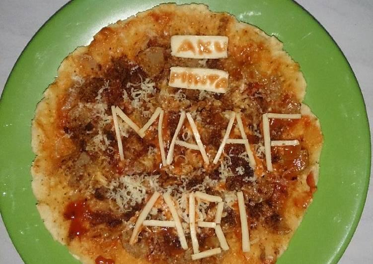 Pizza crispy teflon