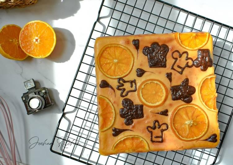Brownies Orange Cheesecake Cookpad
