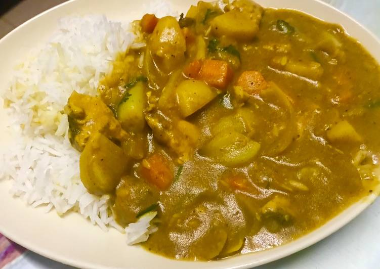 Easiest Way to Prepare Favorite Tasty and healthy chicken curry Japanese style