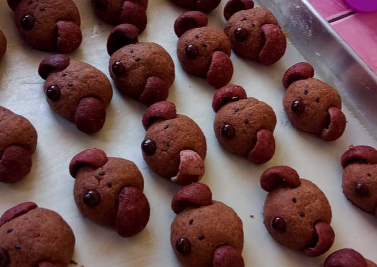 22. Choco Puppy Cookies