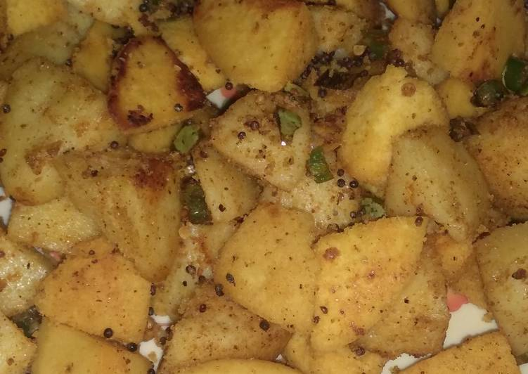 Step-by-Step Guide to Prepare Any-night-of-the-week Chatpati fried idli