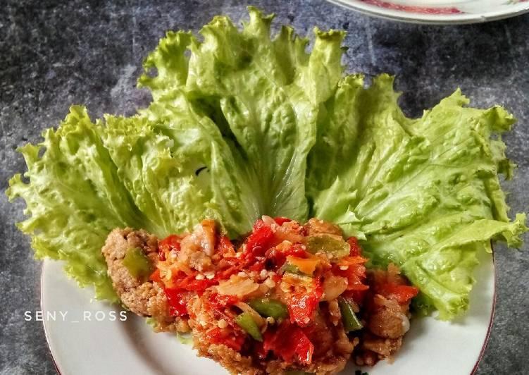 8. Ayam Geprek Bensu Homemade #seninsemangat #resepsenyross