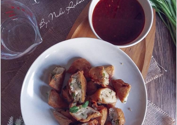 Cucur Udang Kangkung #phopbylinimohd #menuberbuka - velavinkabakery.com