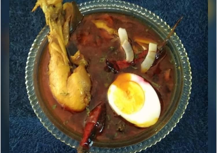 Gavran chicken rassa(dhaba style)