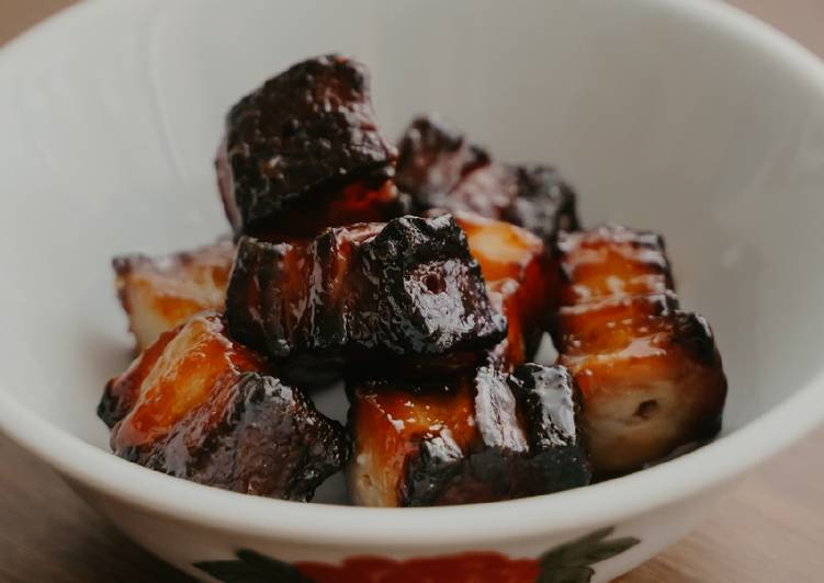 Recipe: Perfect Pork char siew / BBQ pork belly (Simplified version)