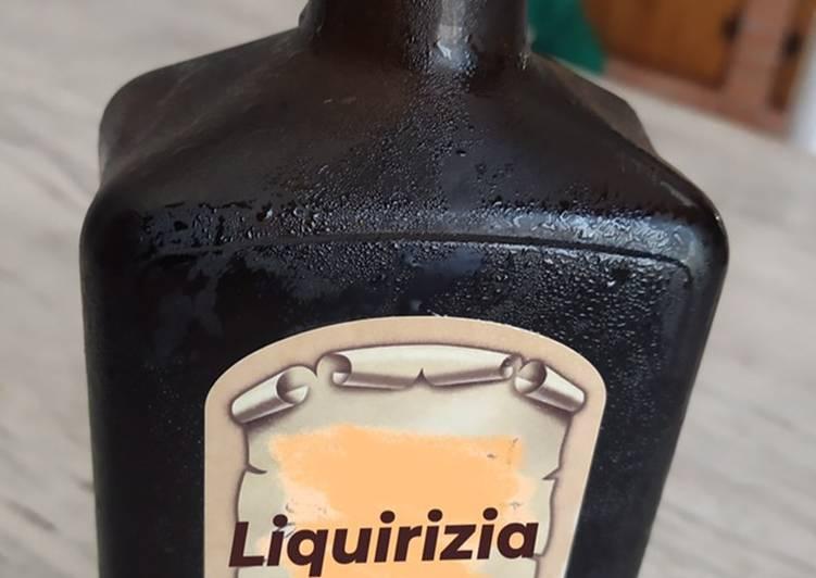 Ricetta Liquore di Liquirizia