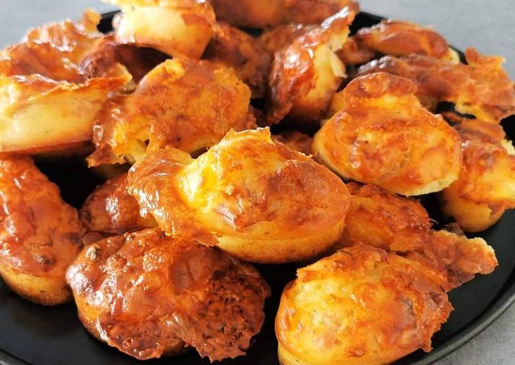 Recette Appétissante 🍽️ Minis Cakes Chorizo Mozzarella !! 🍽️
