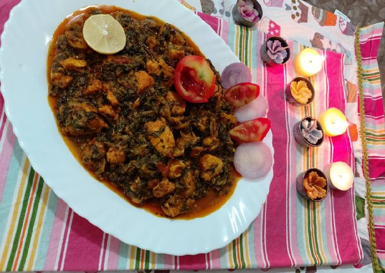 How to Boost Your Mood with Food Chicken with fenugreek leaves and spenich