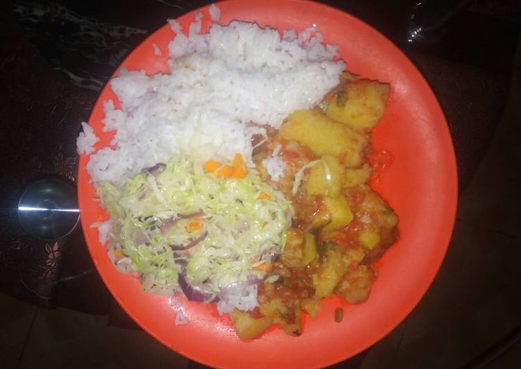Information on How to Elevate Your Mood with Food Rice, Matoke, lemoncabbage