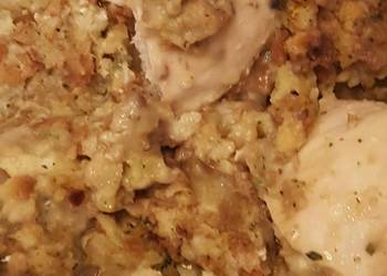How to Cook Tasty Chicken Stuffing Casserole