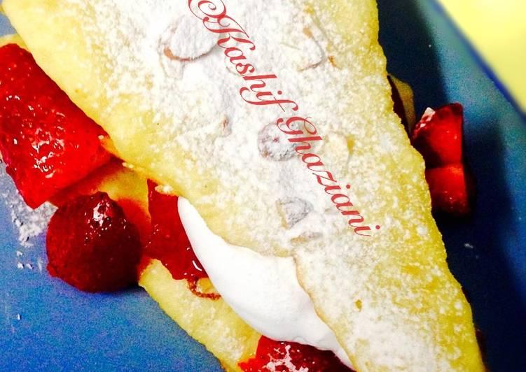 Easiest Way to Prepare Homemade Strawberry ShortCake #Ramadankitayari #CookpadFruits