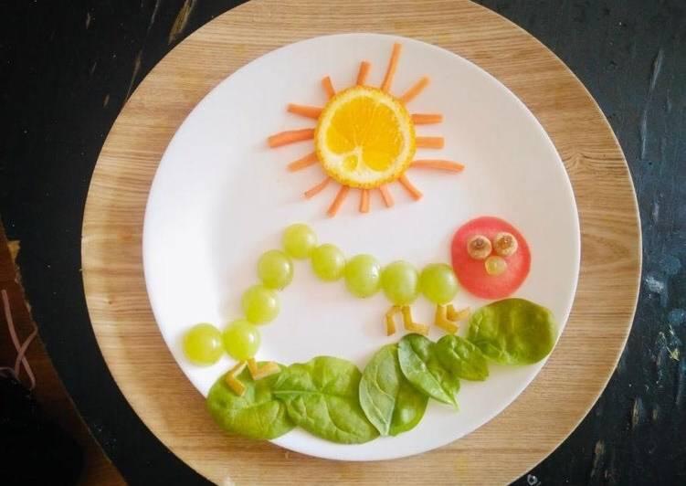 Steps to Prepare Favorite Summer Catarpiller