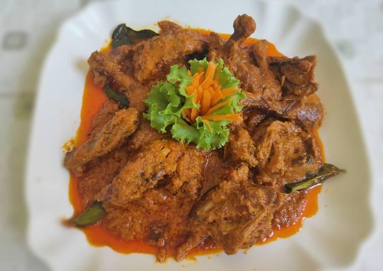 Pelalah Ayam (ayam asap) Khas Lombok
